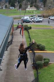 Ziplining, Oregon